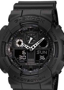 G-Shock watch black on black